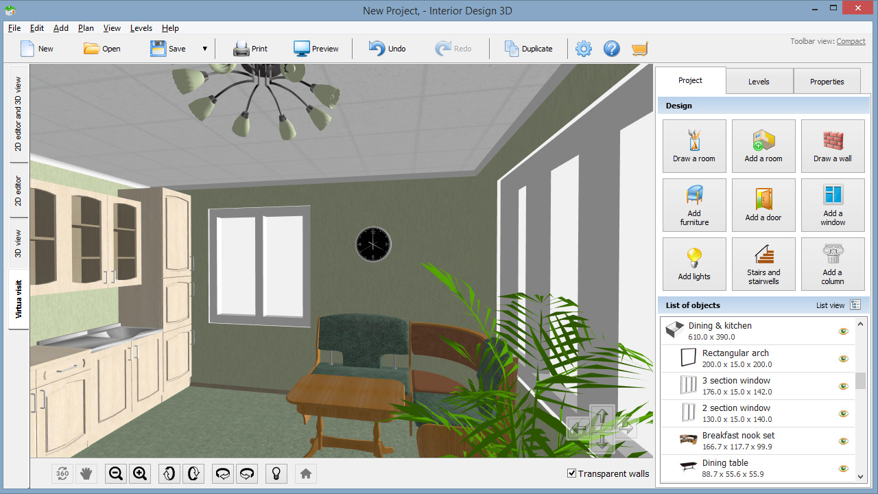 Interior Design Software   Video Tour